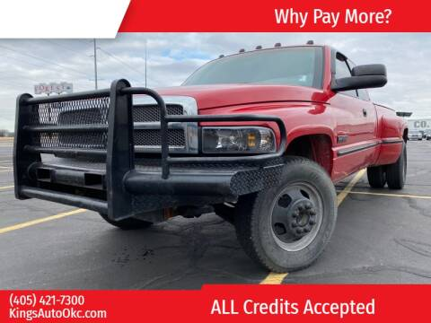 1998 Dodge Ram Pickup 3500 for sale at KING'S AUTO SALES in Oklahoma City OK