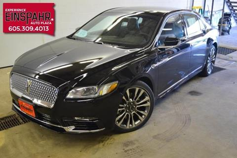 2017 Lincoln Continental for sale in Brookings, SD