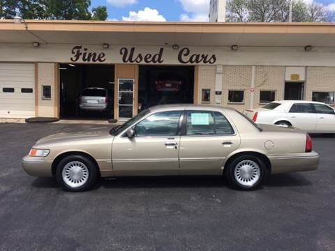 2000 Mercury Grand Marquis for sale at JIMS AUTO MART INC in Milwaukee WI