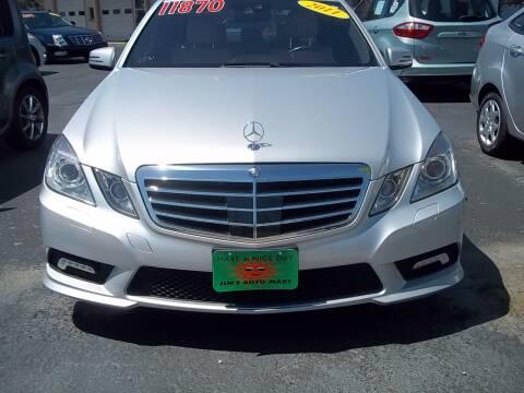 2011 Mercedes-Benz E-Class E 350 Luxury 4MATIC for sale at JIMS AUTO MART INC in Milwaukee WI