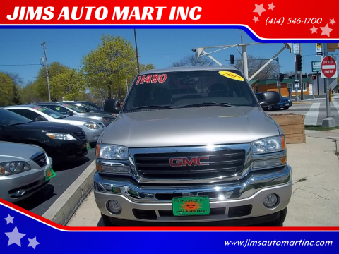 2007 GMC Sierra 1500 Classic SLE2 for sale at JIMS AUTO MART INC in Milwaukee WI