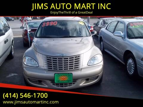 2004 Chrysler PT Cruiser Touring Edition for sale at JIMS AUTO MART INC in Milwaukee WI