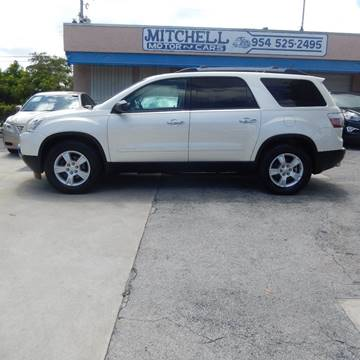 2010 GMC Acadia for sale in Fort Lauderdale, FL