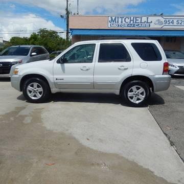 2007 Ford Escape Hybrid for sale in Fort Lauderdale, FL
