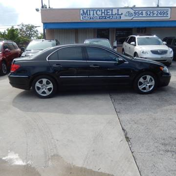 2006 Acura RL for sale in Fort Lauderdale, FL