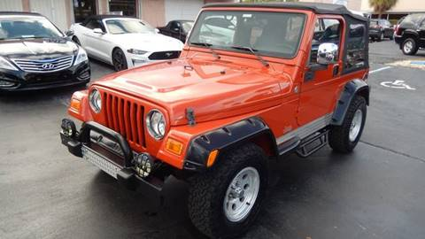 2005 Jeep Wrangler for sale in Fort Lauderdale, FL