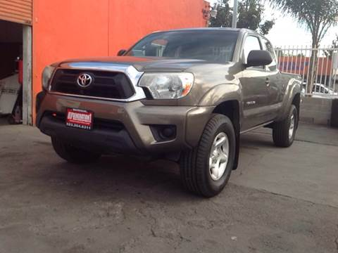 2012 Toyota Tacoma for sale at GENERATION 1 MOTORSPORTS #1 in Los Angeles CA