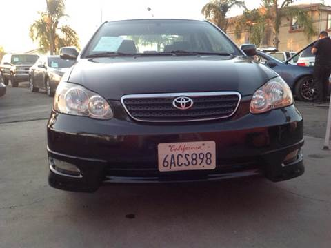 2007 Toyota Corolla for sale at GENERATION 1 MOTORSPORTS #1 in Los Angeles CA
