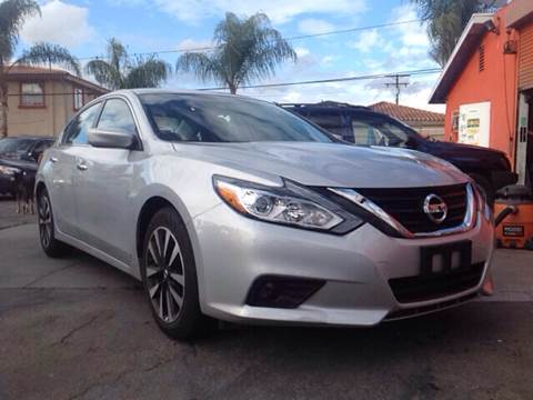 2018 Nissan Altima for sale at GENERATION 1 MOTORSPORTS #1 in Los Angeles CA