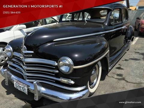 1949 plymouth deluxe for sale in los angeles, ca