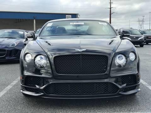 2017 Bentley Continental for sale in Los Angeles, CA