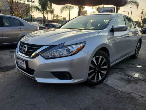 2018 Nissan Altima 2.5 SV for sale at GENERATION 1 MOTORSPORTS #1 in Los Angeles CA