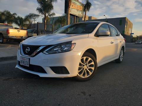 2019 Nissan Sentra SV for sale at GENERATION 1 MOTORSPORTS #1 in Los Angeles CA