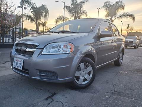 2011 Chevrolet Aveo LT for sale at GENERATION 1 MOTORSPORTS #1 in Los Angeles CA