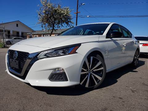 2019 Nissan Altima 2.5 SR for sale at GENERATION 1 MOTORSPORTS #1 in Los Angeles CA