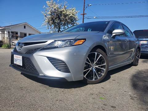 2019 Toyota Camry SE for sale at GENERATION 1 MOTORSPORTS #1 in Los Angeles CA