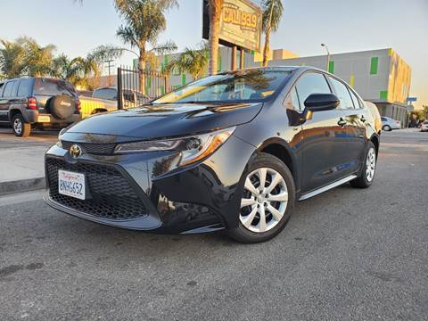 2020 Toyota Corolla LE for sale at GENERATION 1 MOTORSPORTS #1 in Los Angeles CA