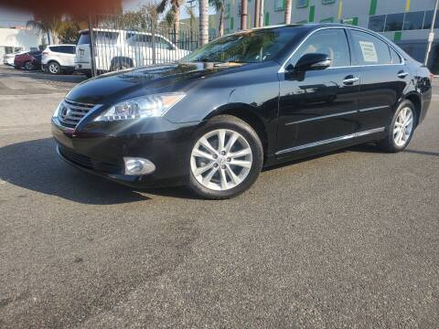 2012 Lexus ES 350 for sale at GENERATION 1 MOTORSPORTS #1 in Los Angeles CA