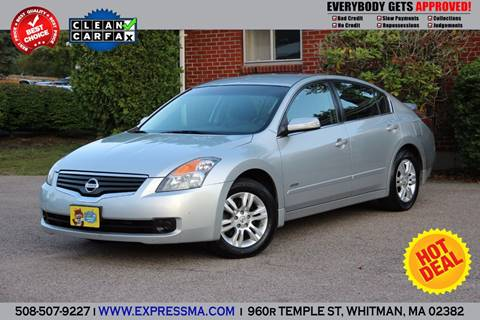 2008 Nissan Altima Hybrid for sale in Whitman, MA