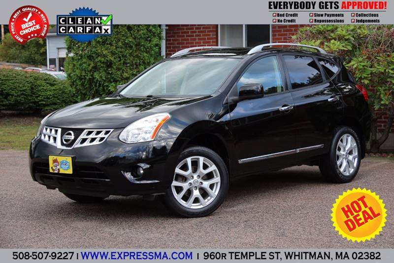 2011 Nissan Rogue AWD S 4dr Crossover In Whitman MA  Auto Sales