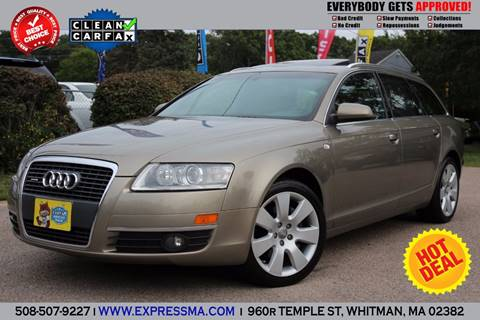 2006 Audi A6 for sale in Whitman, MA