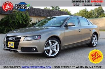 2009 Audi A4 for sale in Whitman, MA