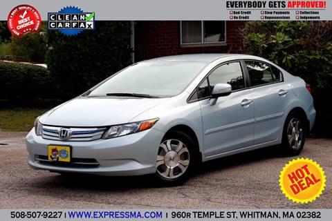 2012 Honda Civic for sale in Whitman, MA