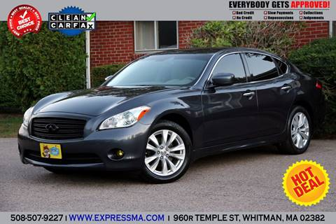 2011 Infiniti M37 for sale in Whitman, MA