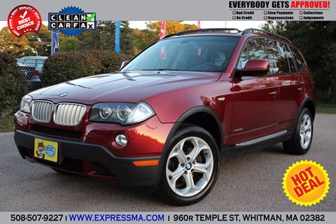 2010 BMW X3 for sale in Whitman, MA