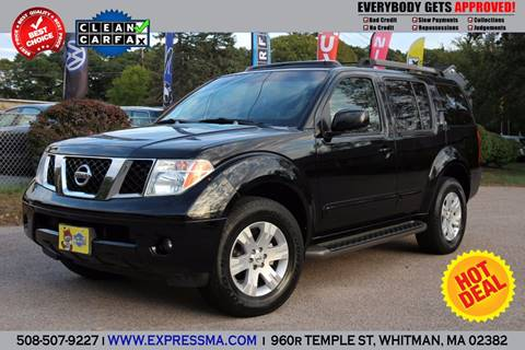 2006 Nissan Pathfinder for sale in Whitman, MA