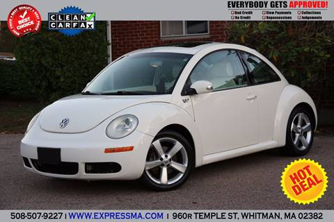 2008 Volkswagen New Beetle for sale in Whitman, MA