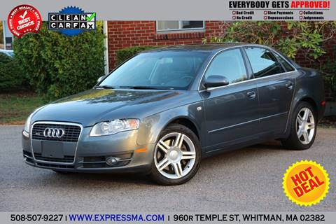 2006 Audi A4 for sale in Whitman, MA