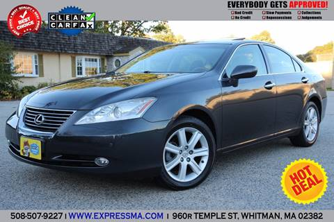 2008 Lexus ES 350 for sale in Whitman, MA
