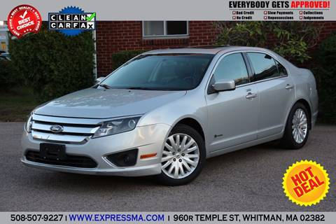 2010 Ford Fusion Hybrid for sale in Whitman, MA
