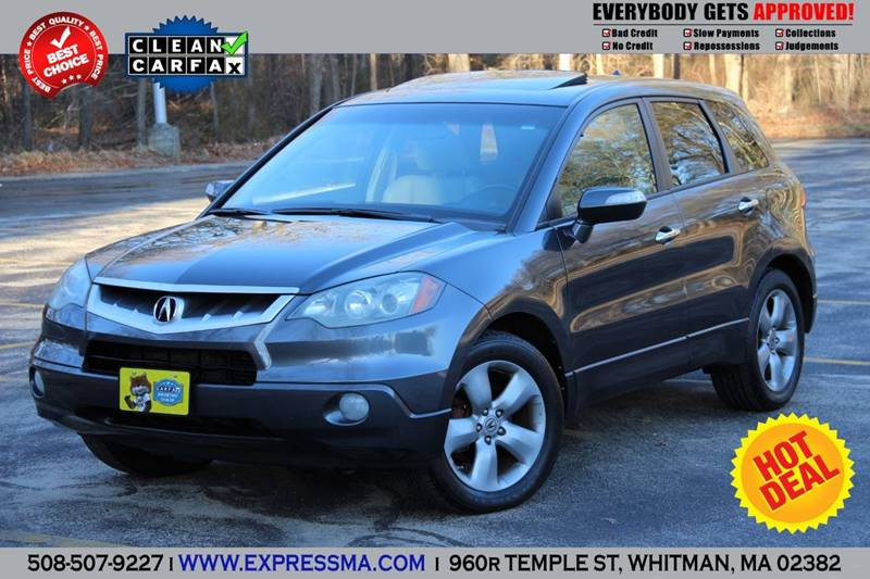 Acura Rdx SHAWD Dr SUV WTechnology Package In Whitman MA - Acura rdx fuel type