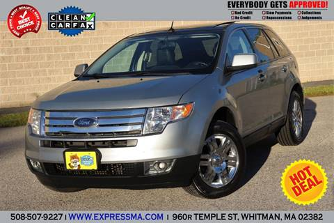 Ford Edge For Sale In Whitman Ma