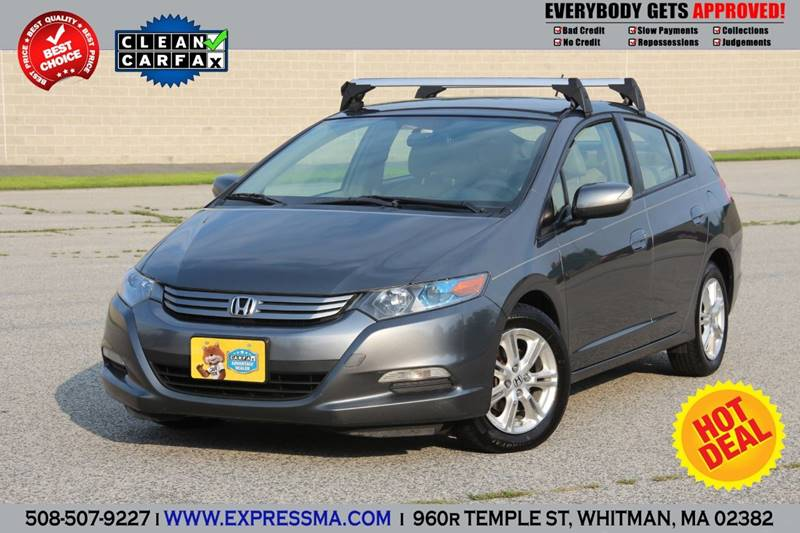 2010 Honda Insight For Sale At Auto Sales Express In Whitman MA