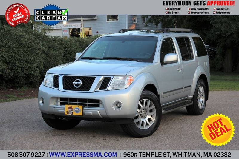 2009 Nissan Pathfinder Le In Whitman Ma Auto Sales Express