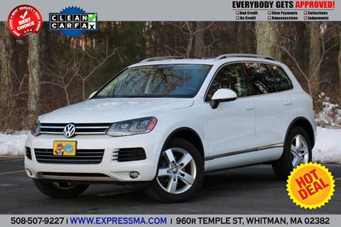 used volkswagen touareg for sale - carsforsale®