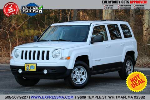 2013 Jeep Patriot for sale in Whitman, MA