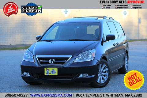 2007 Honda Odyssey for sale in Whitman, MA