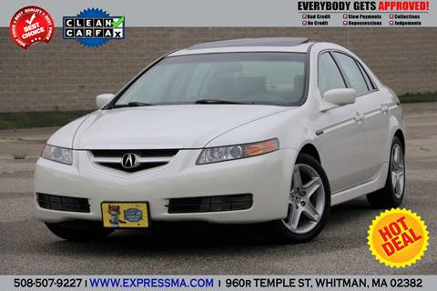 2004 Acura TL for sale in Whitman, MA
