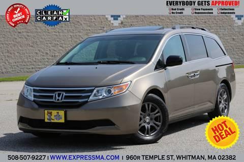 2012 Honda Odyssey for sale in Whitman, MA
