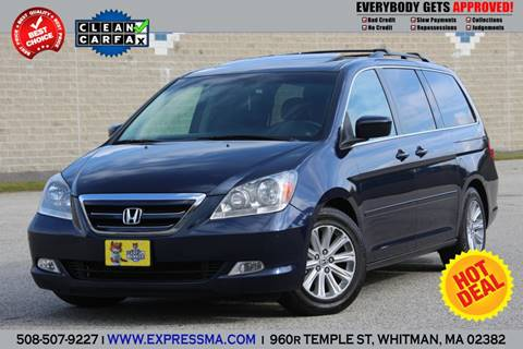 2007 Honda Odyssey for sale in Whitman, MA