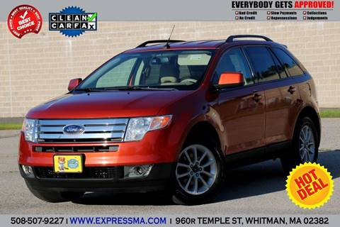 2007 Ford Edge for sale in Whitman, MA