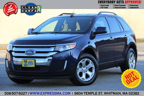 2011 Ford Edge for sale in Whitman, MA