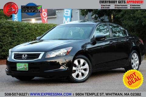 2008 Honda Accord for sale at Auto Sales Express in Whitman MA