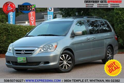 2005 Honda Odyssey for sale at Auto Sales Express in Whitman MA