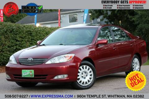 2003 Toyota Camry for sale at Auto Sales Express in Whitman MA