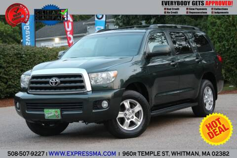 2008 Toyota Sequoia for sale at Auto Sales Express in Whitman MA